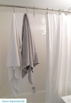Shower Curtain Rod Holders - Foter