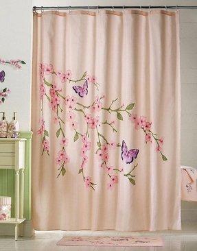 Best Oriental Shower Curtain