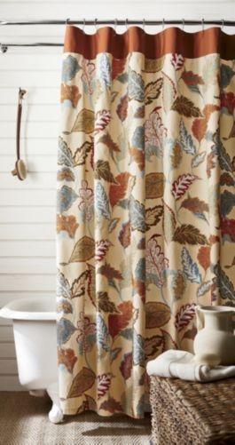Charming Autumn Shower Curtains