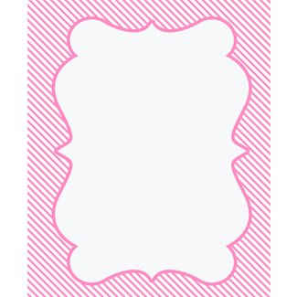 Fan image for free printable baby shower borders