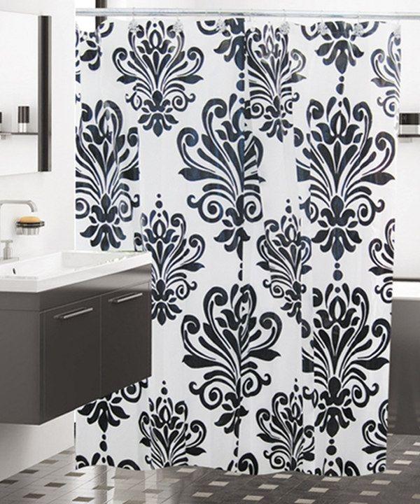 Perfect Black Shower Curtain Hooks 27