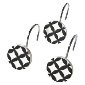 Black Shower Curtain Hooks Foter