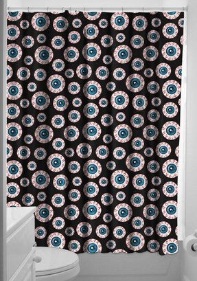 black and turquoise shower curtain. Black Shower Curtain Hooks 30 Shower Curtain Hooks  Foter