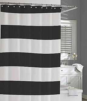 Grey White Striped Shower Curtain. Blue white striped shower curtain Black Striped Shower Curtain  Foter