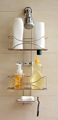 Brushed Nickel Shower Caddy 2