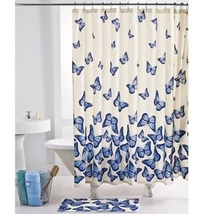 Butterfly shower curtain hooks 6