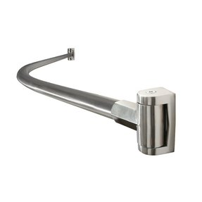 Chrome Plated Stainless Steel Curved Shower Curtain Rod