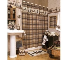 Brilliant Country Plaid Shower Curtains Ideas On Foter Download Free Architecture Designs Estepponolmadebymaigaardcom