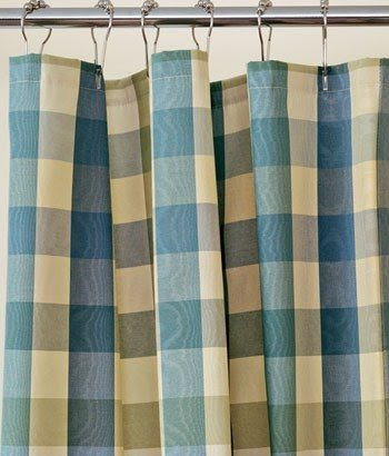 Country Plaid Shower Curtains - Foter