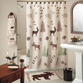 Deer shower curtain 3