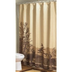 Deer shower curtain 4