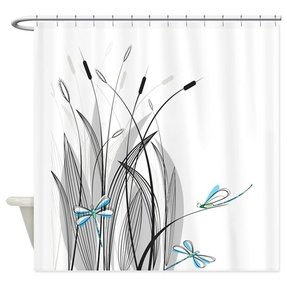 pretty dragonfly shower curtains. Dragonfly shower curtain 1 Shower Curtain  Foter