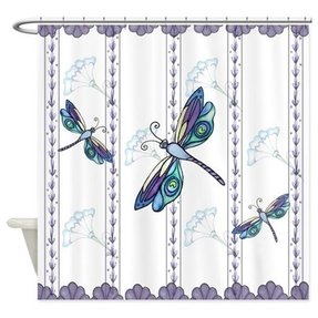 Dragonfly Shower Curtain 2