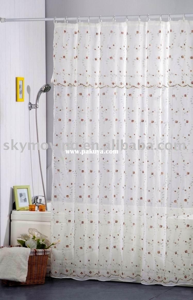 Nice Extra Wide Shower Curtain Liner 3