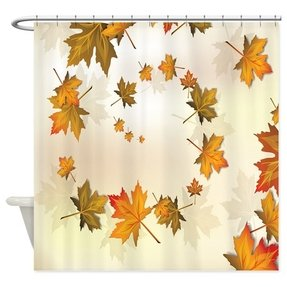 Falling Leaves Shower Curtain 14