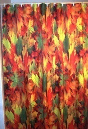 Falling Leaves Shower Curtain 9 Horrific Halloween Curtains On