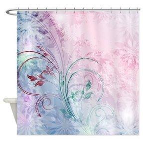 Floral shower curtain hooks foter floral shower curtain hooks 1 mightylinksfo