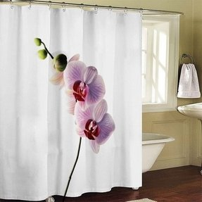 Floral shower curtain hooks foter flower shower curtain hooks mightylinksfo
