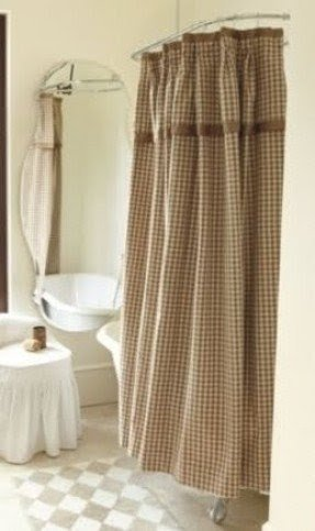 Gingham Shower Curtains - Foter