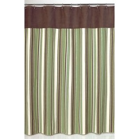 Green Fabric Shower Curtain Foter