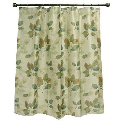 Leaves Shower Curtain 5