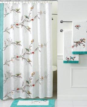 Lenox Chirp Shower Curtain Bird