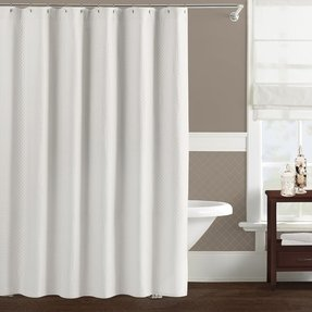Matelasse shower curtain 5