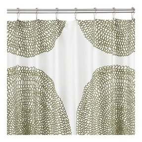 Olive Shower Curtain Marimekko Showercurtain Crate Barrel 59
