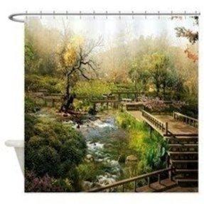 Oriental Shower Curtain Foter