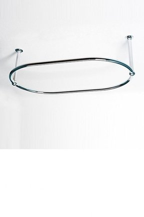 Oval shower curtain rail 345 00