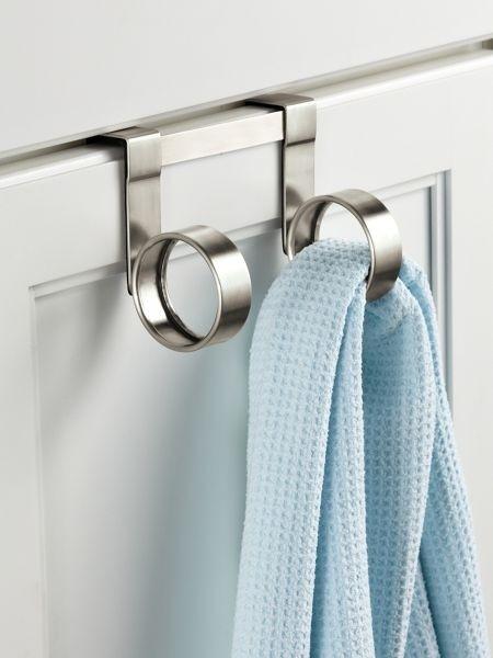 Over shower door towel hooks & Over Shower Door Towel Rack - Foter