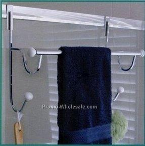 Over Shower Door Towel Rack Ideas On Foter