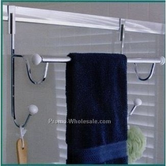 Over Shower Door Towel Rack Ideas On Foter