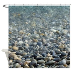 Pebble Shower Curtain 17