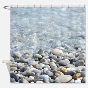 Pebble shower curtain 3