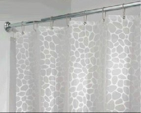 Pebble Shower Curtain 5