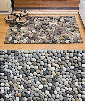 Pebble shower mat 12