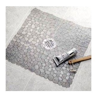 Pebble shower mat