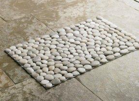 Rock bath mat