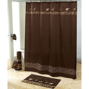 Safari shower curtain 9
