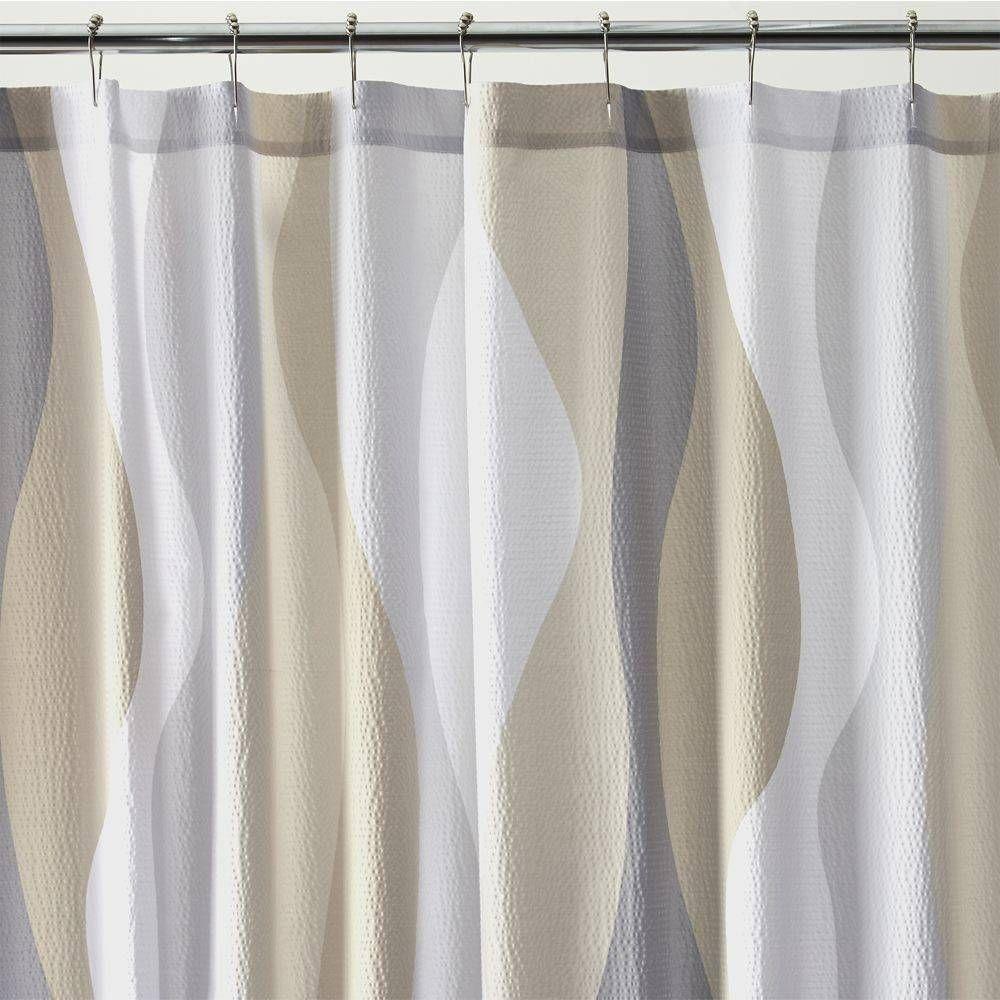 Beige shower curtains Tan Seersucker Shower Curtain 14 Foter Seersucker Shower Curtain Ideas On Foter