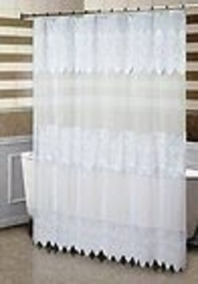 etsy fsud panel white window decor home market curtain shower cotton il sheer sizes voile