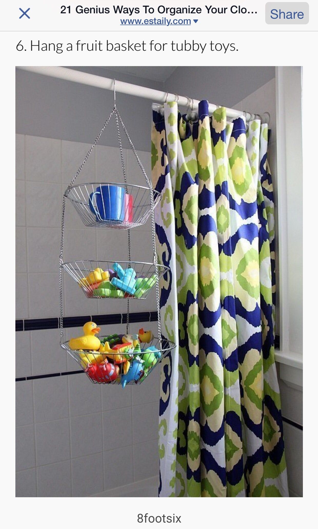 Shower Curtain Holders