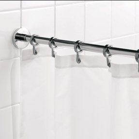 Shower Curtain Rod Flanges