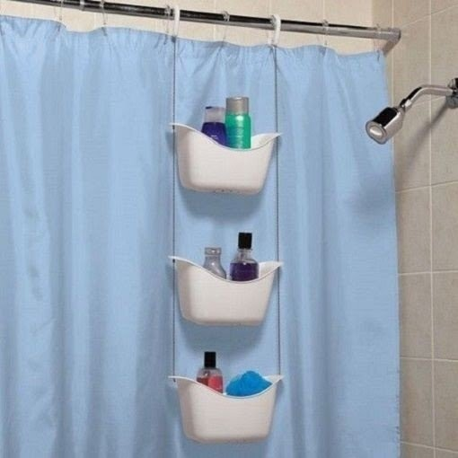 Shower Curtain Rod Holders 1