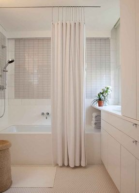 Shower curtain rod holders 24
