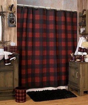 Shower Curtains Cabin Decor