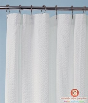 Threshold shower curtain 1