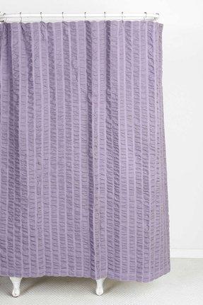 Seersucker Shower Curtain - Foter