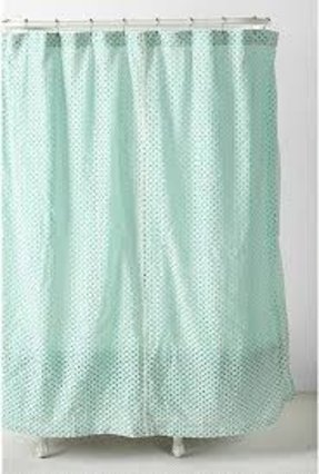 Eyelet Shower Curtain - Foter